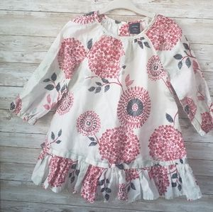 Gap Long Sleeve Baby Dress with Flowers